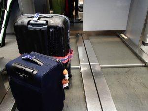 スーツケースは2台持ち